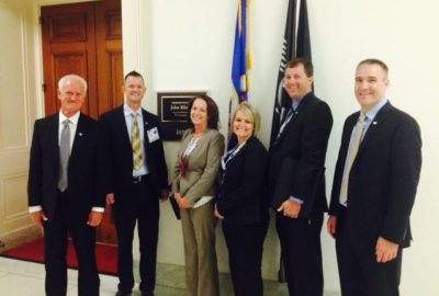 Vance Prigge along with MIIAB visits Capitol