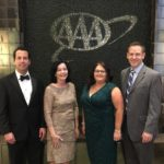 Jacob Simons, Therese Armstead, Jenney Davis, and Bill Nystrom at AAA Awards Banquet