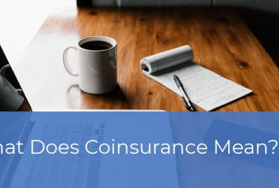 What does coinsurance mean?